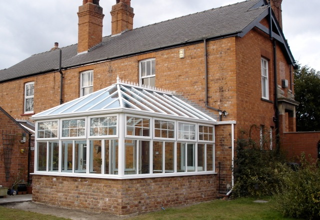 Glass replacement roof supplied by trade Riviera Conservatory Roofs Ltd UK price quote