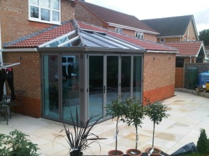 Coloured UPVC Glass Conservatory roof supplier Riviera Roofs Boston Lincolnshire England trade quote price cost