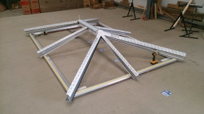 Skypod Skylight roof lantern Assembly inspection testing quality control Riviera Conservatory Roofs Ltd