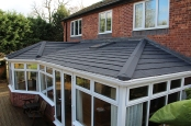 Tiled insulated conservatory roof replacement solid roofs Riviera thermal