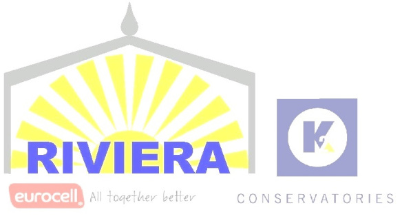 Riviera Roofs Logo with Eurocell and K2